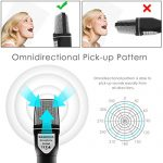 Condenser Microphone,Computer Microphone,SOONHUA 3.5MM Plug and Play Omnidirectional Mic with Desktop Stand for Gaming,YouTube Video,Recording Podcast,Studio,for PC,Laptop,Tablet,Phone 2
