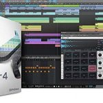 Presonus AudioBox 96 Audio Interface Bundle with Studio One Artist Software Pack with Mackie CR3 Pair Studio Monitors and 1/4″ TRS to TRS Instrument Cable and Microphone Isolation Shield 3