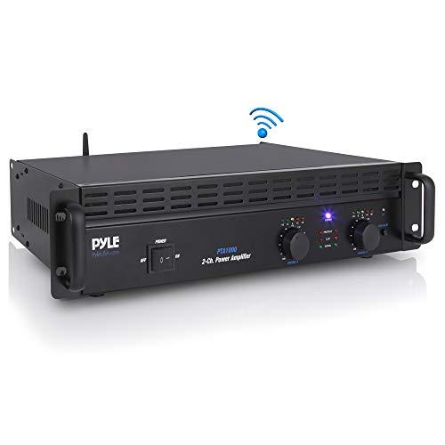 Professional Audio Bluetooth Power Amplifier - 2-Channel Rack Mount Bridgeable