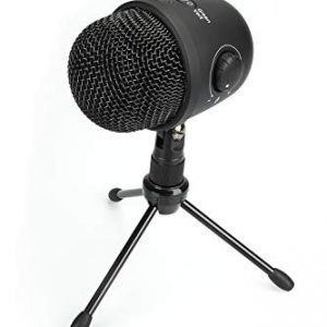 AmazonBasics Desktop Mini Microphone Gen2-Black