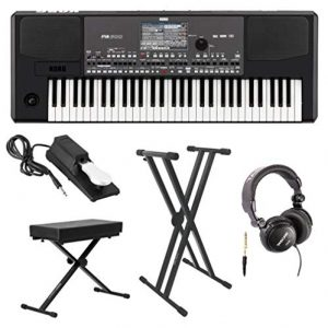 Korg Professional Arranger Keyboard with Knox Keyboard Bench, Knox Keyboard