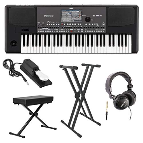 Korg Professional Arranger Keyboard with Knox Keyboard Bench, Knox Keyboard
