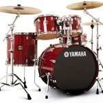 Yamaha Stage Custom Birch Drum Set - Cranberry Red