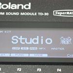 Roland TD-30 V-Drums Sound Module 1