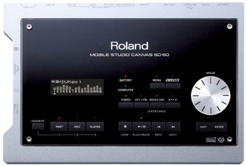 Roland Mobile Studio Canvas Sound Module and Audio Interface