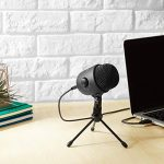 AmazonBasics Desktop Mini Microphone Gen2-Black 1