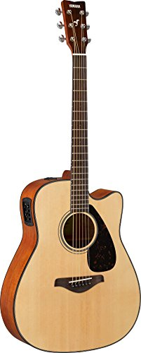 Yamaha Solid Top Cutaway Acoustic-Electric Guitar