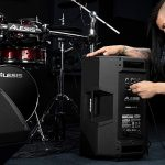 Alesis Strike Amp 12 | 2000-Watt Ultra-Portable Powered Drum Speaker / Amplifier With 12-Inch Woofer, High-Frequency Compression Driver and Contour EQ 3