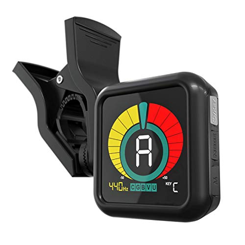 KLIQ UberTuner - Professional Clip-On Tuner for All Instruments