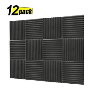 Acoustic Panels, Studio Foam, Sound Proof Panels, Noise Dampening Foam