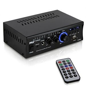 Home Audio Power Amplifier System - 2x120W Dual Channel Theater