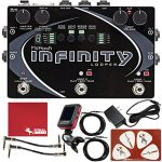 Pigtronix SPL Infinity Looper Guitar Effects Pedal with 18VDC Power Supply