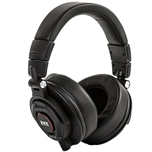 LyxPro Closed Back Over-Ear Professional Recording Headphones