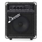 Donner 15W Bass Guitar Amplifier DBA-1 Electric Practice Bass Combo AMP with cable 1