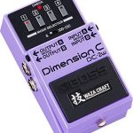 BOSS WAZA CRAFT Dimension C Guitar Pedal (DC-2W) 1
