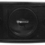 Rockville Karaoke Machine System w/Pair 10″ Speakers+Bluetooth Mixer Amp+Mics 2