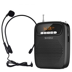 Voice Amplifier Portable Microphone Wired Headset Speaker