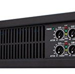 QSC CX168 Power Amplifier 130 Watts 8 channel at 4 Ohms 3-Pin Detachable-Blocks Variable-Speed-Fan 2