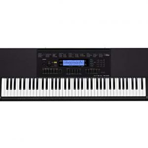 Casio 76-Key Touch Sensitive Keyboard with Power Supply (Renewed)