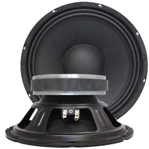 """Seismic Audio - Jolt-10 - Pair of 10"""" Bass Guitar Raw Woofer Speaker Drivers"""