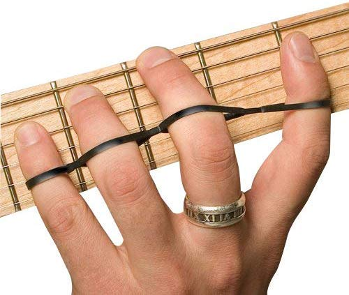 Riff BANDZ - Resistance Training Bands For Guitar Bass Piano Finger Speed System