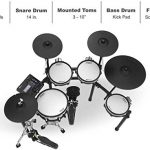 Roland V TD-27KV 5-Piece Electronic Set Mesh Heads, 4 x Cymbals, and TD-27 Sound Module with RH5 Headphone + 3 Pairs of Drum Stick + Gravity Aux Cable and Phone Holder Bundle (TD-27KV-S) 2