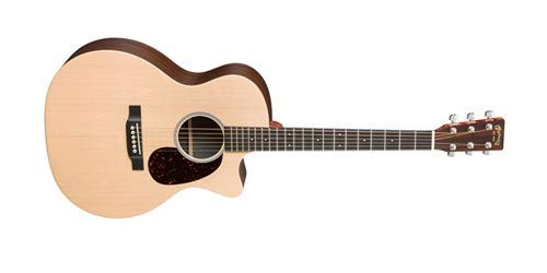 Martin X Series Grand Performance Acoustic-Electric Guitar Natural