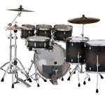 Pearl Drum Set, Satin Black Burst, inch (DMP927SPC262) 3
