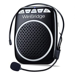 WinBridge Rechargeable Ultralight Portable Voice Amplifier Waist Support