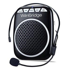 WinBridge Rechargeable Ultralight Portable Voice Amplifier Waist Support
