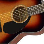 Fender CC-60s Right Handed Handed Acoustic Guitar – Concert Body Style – Sunburst 3