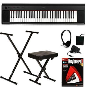 Yamaha Piaggero Essential Keyboard Bundle