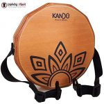 KTÄK -The First Handcrafted, Hand Drum Percussion, Two-Sound Cajón Body Snare, Portable Cajon by Kandu (Nut Brown) 2