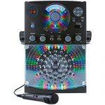 Singing Machine Bluetooth Karaoke System with LED Disco Lights