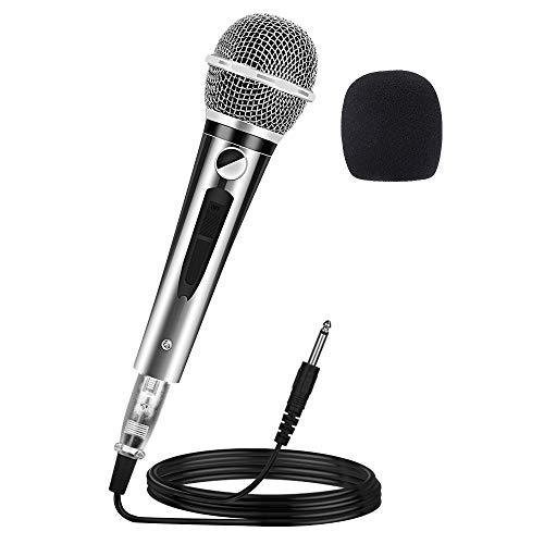 Ankuka Wired Dynamic Karaoke Microphones, Professional Handheld Vocal Mic