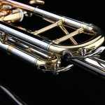 Glory Brass Bb Trumpet with Pro Case +Care Kit,Nickel Plated Intermediate Double-Braced Bb Trumpet, More COLORS Available ! CLICK on LISTING to SEE All Colors 2