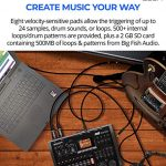 Zoom R8 Multitrack Recorder Bundle with 16GB and 32GB Class 10 SDHC SD Cards, Blucoil 2-Pack of 10-FT Straight Instrument Cables (1/4in), 2x 10′ XLR Cables, 5x Cable Ties, and 8 AA Batteries 2
