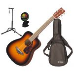 Yamaha JR2 TBS 3/4 Scale MINI Folk Guitar (Tobacco Sunburst) w/Gig Bag