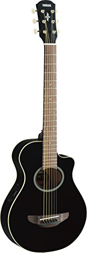 Yamaha 3/4-Size Acoustic-Electric Guitar - Black