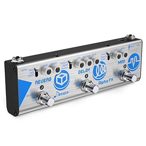 Donner Mini Effect Chain Alpha FX Guitar Effect Pedal Modulation