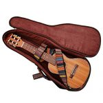 MUSIC FIRST Original Design 0.6″ (15mm) Thick Padded Country Style Baritone Ukulele Case, Ukulele Bag (30″~31″). NEW ARRIVAL! 2
