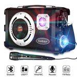 2020 Upgraded Karaoke Machine for Kids & Adults-Verkstar Portable PA Bluetooth