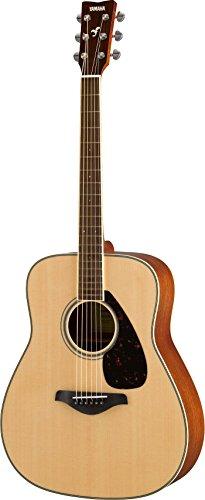 Yamaha Solid Top Acoustic Guitar, Natural