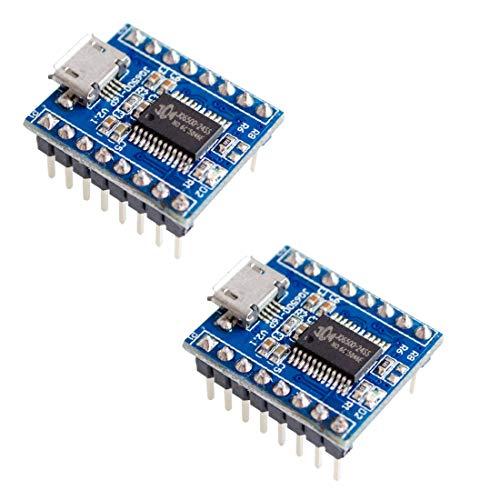 HiLetgo 2pcs Voice Module Sound Module MCU 5 Channel Serial Control