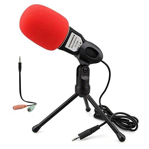 Condenser Microphone,Computer Microphone,SOONHUA 3.5MM Plug