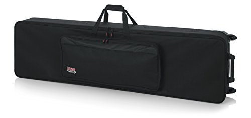Gator Cases Lightweight Rolling Keyboard Case for Slim Extra Long