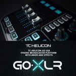 TC-Helicon GO XLR 4-channel USB Streaming Mixer with Voice FX, Effects and Sampler + SR360 Over-Ear Dynamic Stereo Headphones, Audio-Technica ATR1100 Handheld Microphone & Accessory Bundle 2