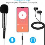 Recording Microphone, EIVOTOR 3.5mm Condenser Microphone Plug and Play, PC Microphone with Filter Suitable for Podcasting, Voice Recording, Skype, YouTube, Games, Laptop, Computer, Phone 1