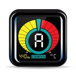 KLIQ UberTuner – Professional Clip-On Tuner for All Instruments – with Guitar, Bass, Violin, Ukulele & Chromatic Tuning Modes 1