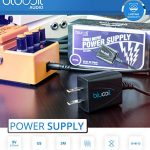 BOSS DD-8 Digital Delay Guitar Effects Pedal Bundle with Blucoil Slim 9V Power Supply AC Adapter, 2-Pack of Pedal Patch Cables, and 4-Pack of Celluloid Guitar Picks 3